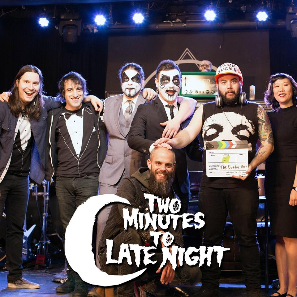 Two Minutes to Late Night!