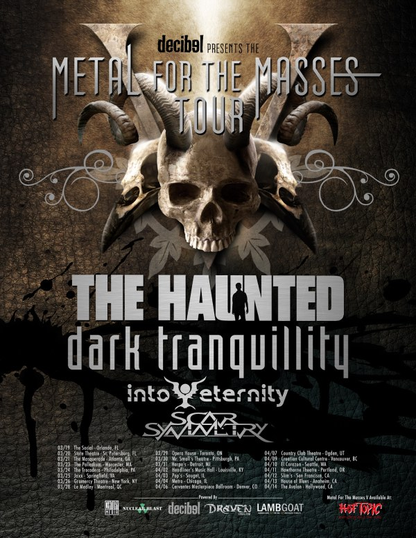 DT/Haunted show poster